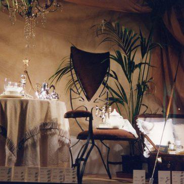 SAMARITAINE –Décors de vitrine pour Noël