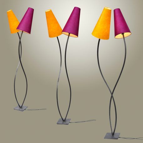 Lampe Totem double
