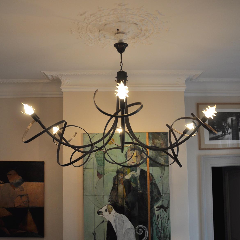 lustre zanzibar 6 branches cyrille varet. Black Bedroom Furniture Sets. Home Design Ideas