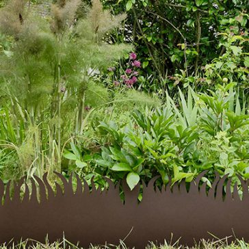 Grassborder sur Jardins Jardins