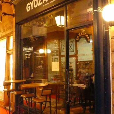 Furniture decoration of the Gyoza bar, Paris