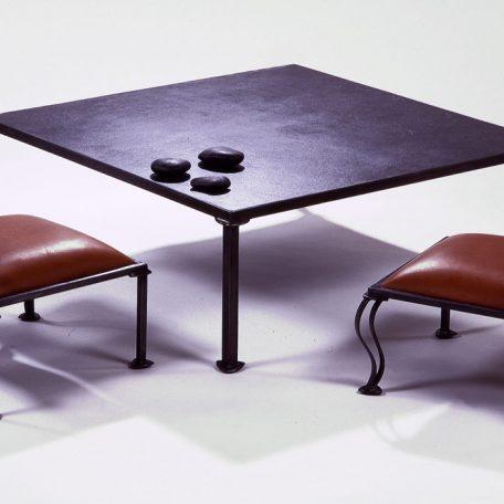Table totem carrée 92x92cm - 1400€