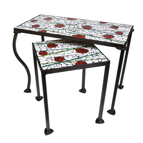 Table roses 60x30cm et 30x30cm - 296€