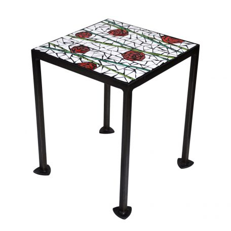 Table roses 30x30cm 128€
